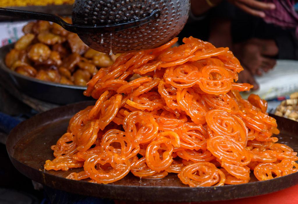 Jalebi being made in Bangladesh